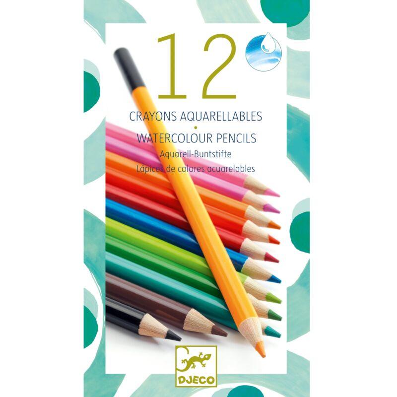 akvarell ceruza