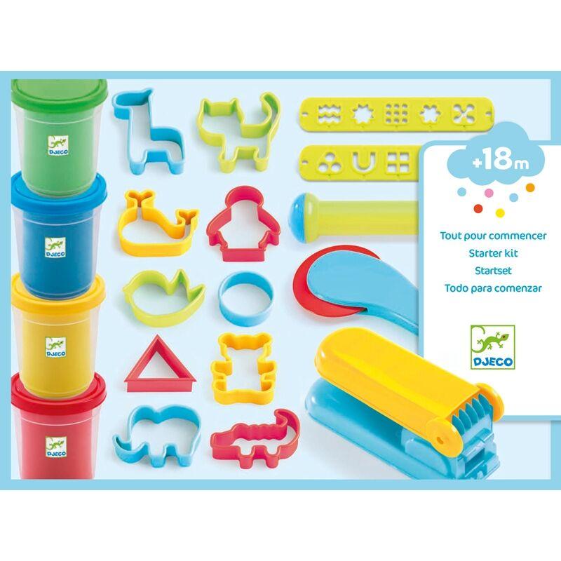 Gyurmaformázó készlet - Djeco kreatív készlet 2-5 éves korig