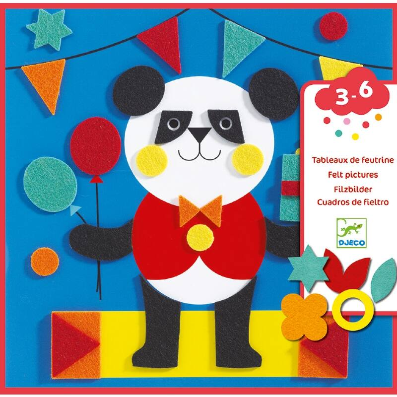 Kreatív műhely - Állatkák - Djeco kreatív készlet 3-6 éves korig