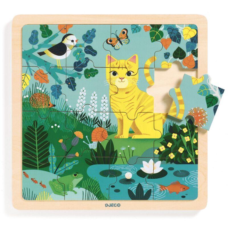 Képkirakó, puzzle - Lili cica - Djeco puzzle 3-6 éves korig