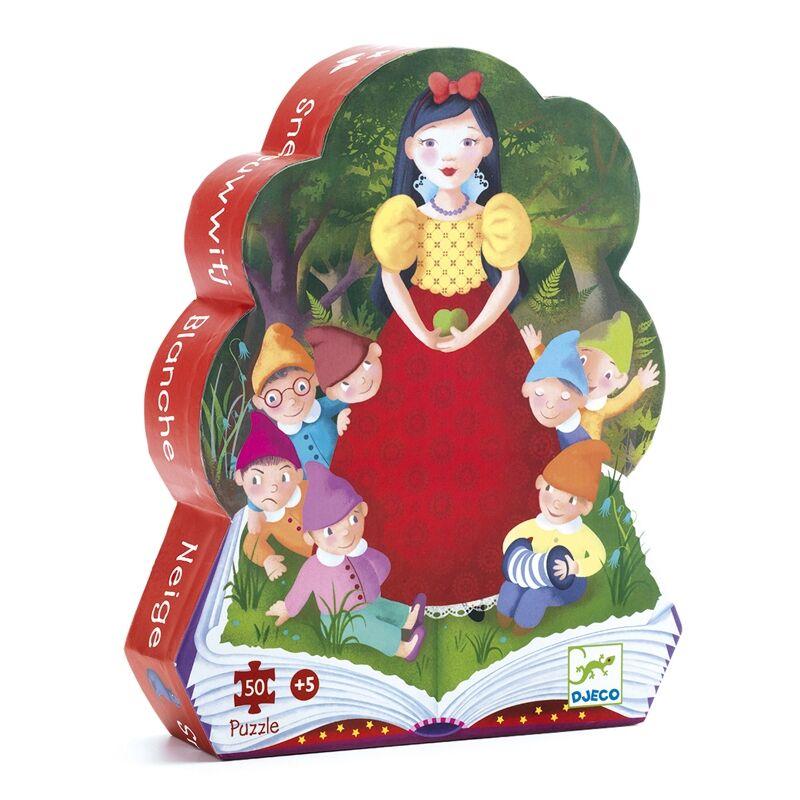Formadobozos puzzle - Hófehérke, Djeco puzzle 5-10 éves korig