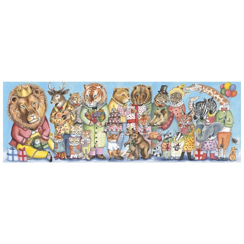 Művész puzzle - Királyi szülinap, 100 db-os, Djeco puzzle 6 éves kortól