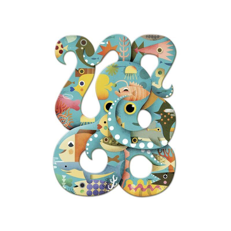 Művész puzzle - Octopus, 350 db-os - Djeco puzzle 8 éves kortól