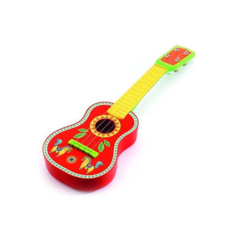 Gyerekgitár - Djeco játékhangszer 3-6 éves korig