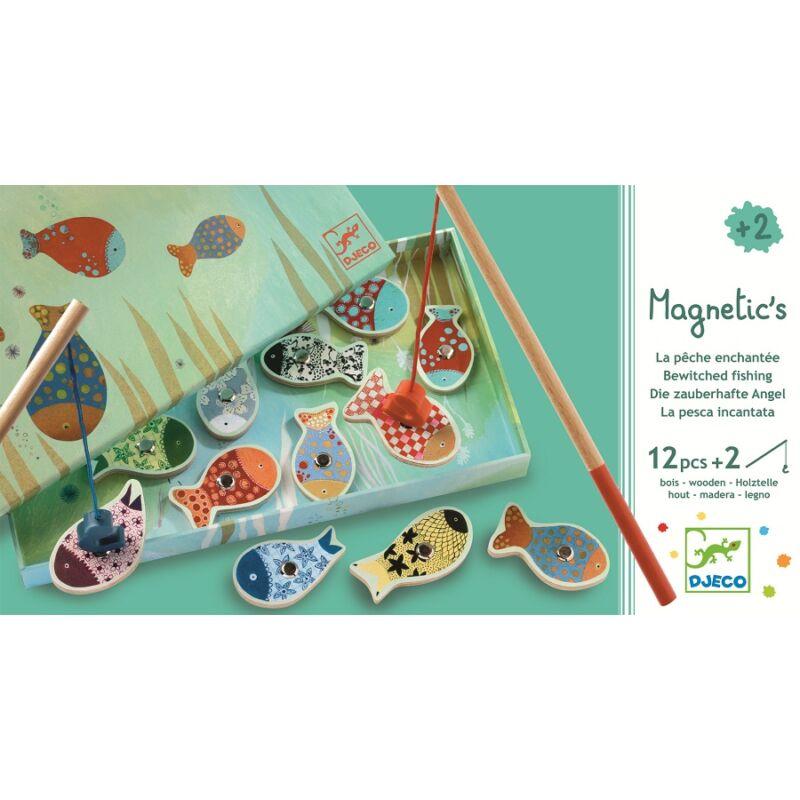 Mágneses hal horgászós játék - Djeco fejlesztő játék 2-4 éves korig