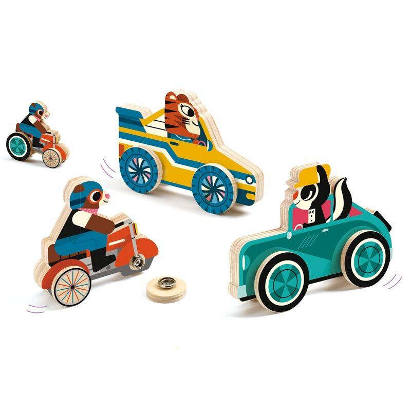 Autószerelés kicsiknek, Djeco fejlesztő játék