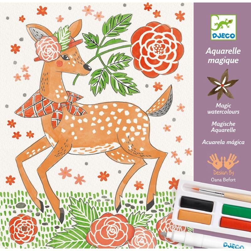 Művészeti műhely - Őszi erdő - Djeco kreatív készlet 8 éves kortól