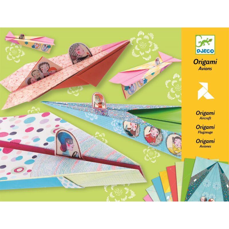 Origami repülők, Djeco Kreatív készlet