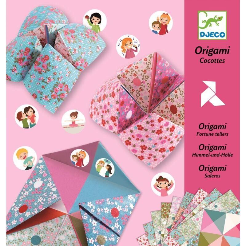 Papírhajtogatás - Csiki-csuki - Djeco origami 6 éves kortól
