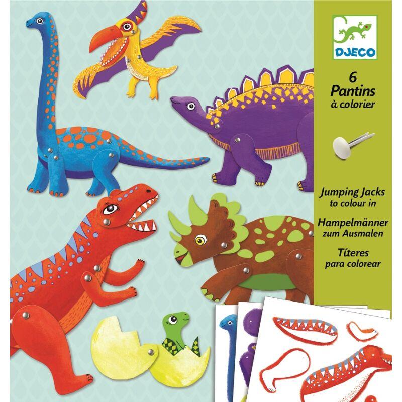 Mozgatható dinók, Djeco Kreatív készlet