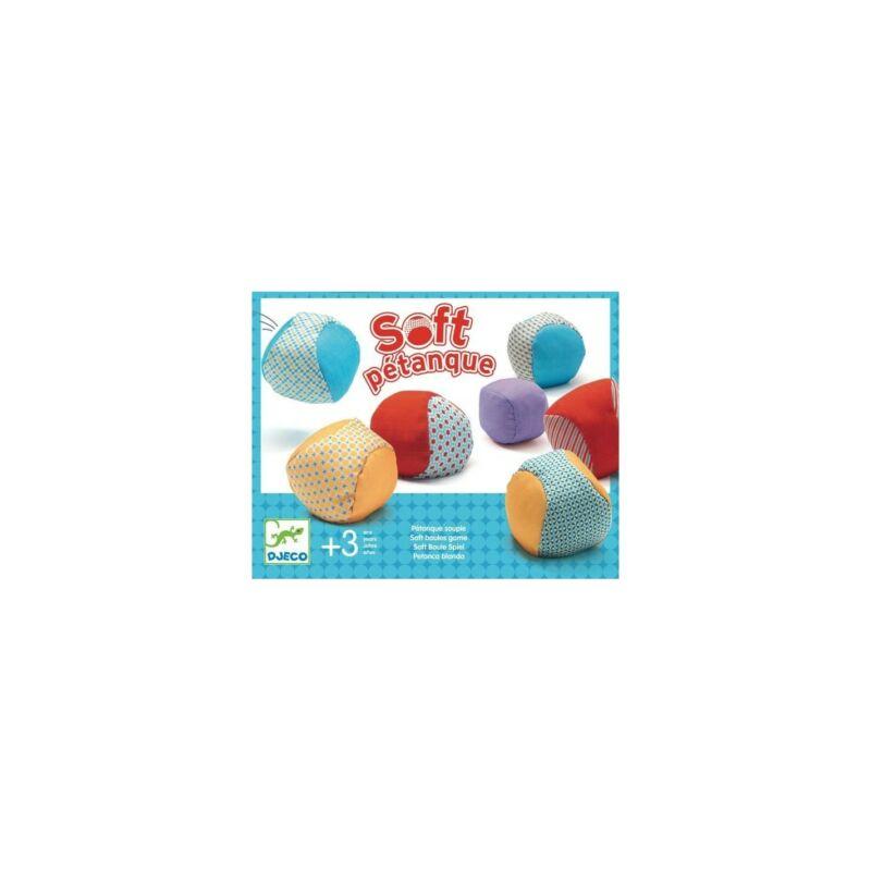 Célzó játék - Puha pétanque, Djeco ügyességi játék 3 éves kortól