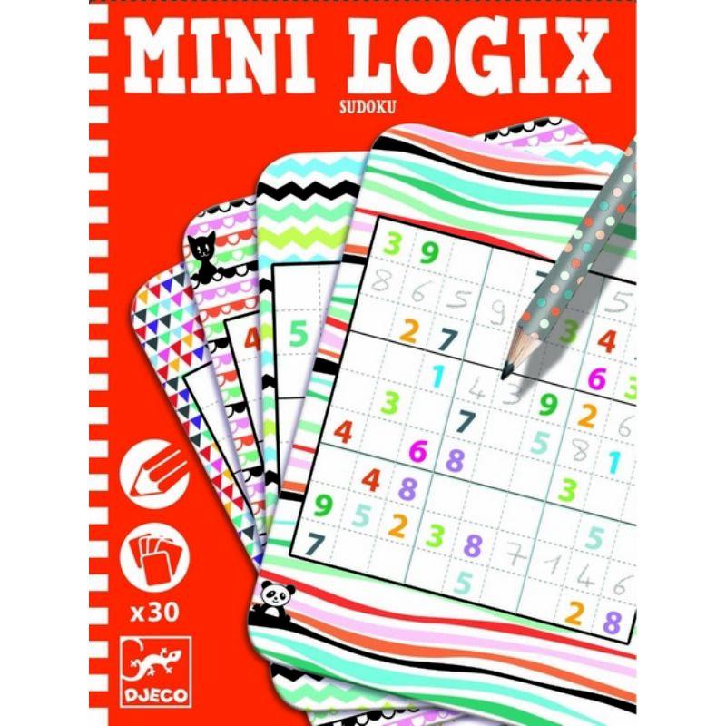 Sudoku gyerekeknek - Djeco fejlesztőjáték 6-10 éves korig