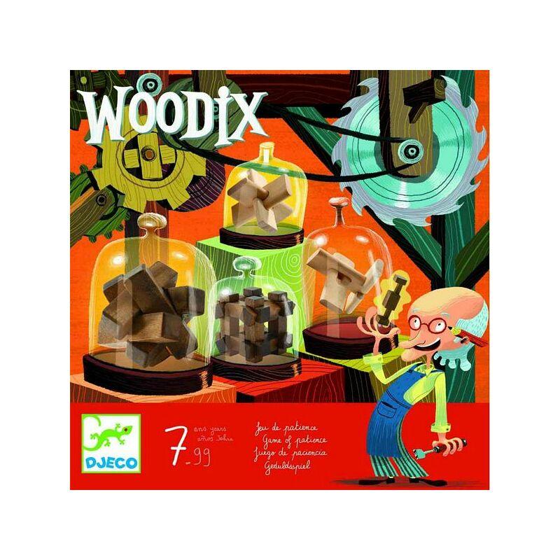 Woodix - Fa logikai készlet, Djeco bűvészjáték