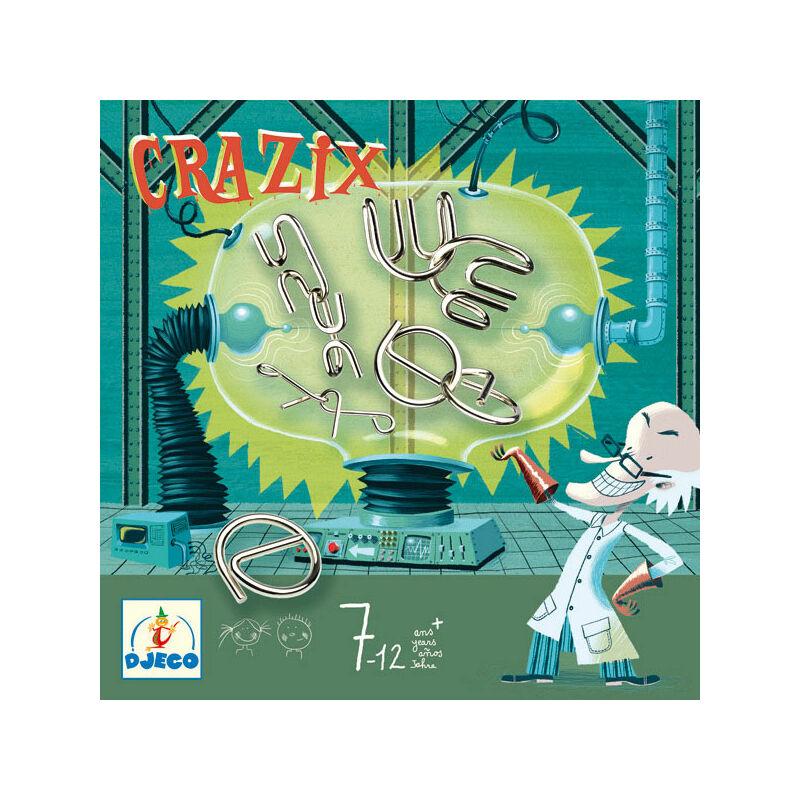 Crazix -Ördöglakat készlet, Djeco logikai játék 7 éves kortól