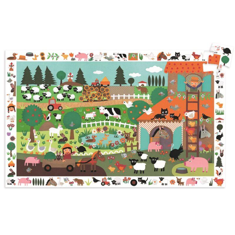 Farm _ Felfedző puzzle kicsiknek