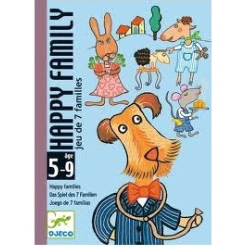 Boldog család - Djeco kártyajáték 5 éves kortól