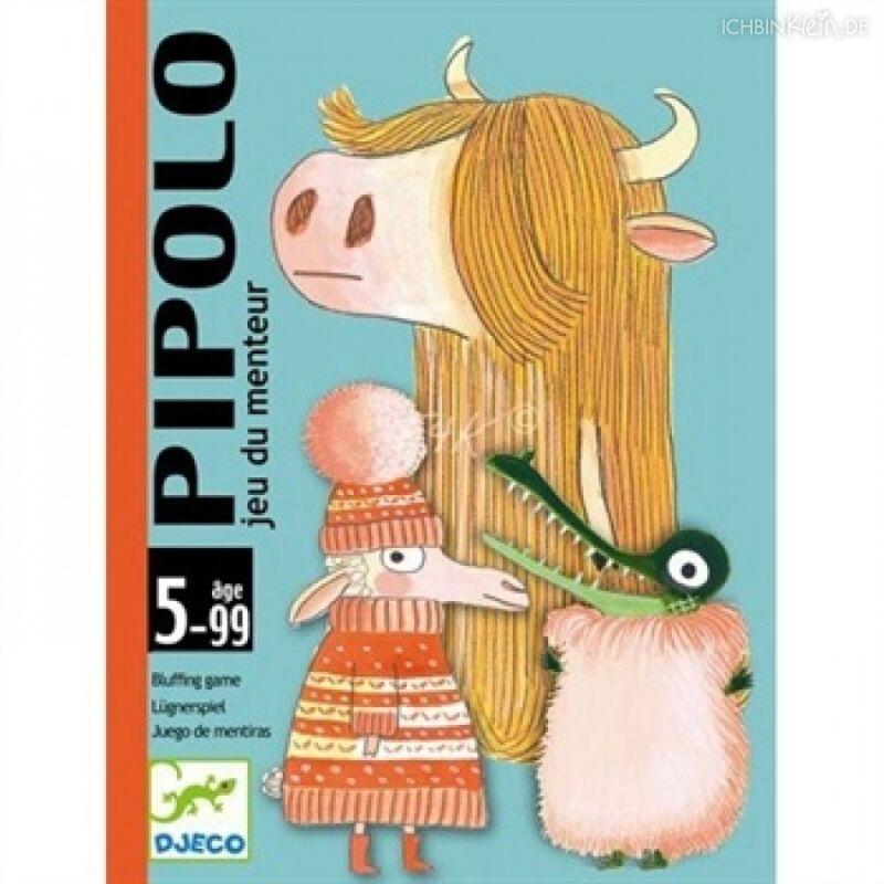 Pipolo -  Djeco kártyajáték 5-99 éves korig