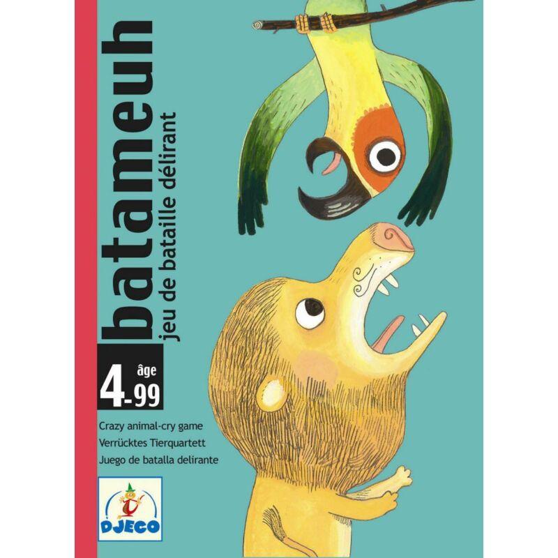 Batameuh - Djeco kártyajáték 4 éves kortól