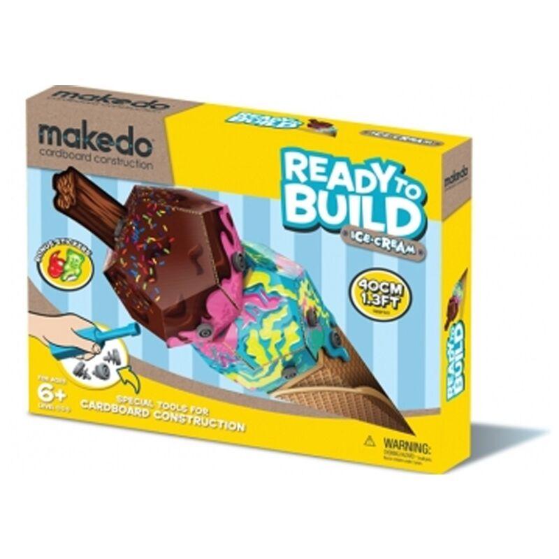 Ready to Build édességek: Fagyi - IceCream, Kreatív építő készlet 6 éves kortól