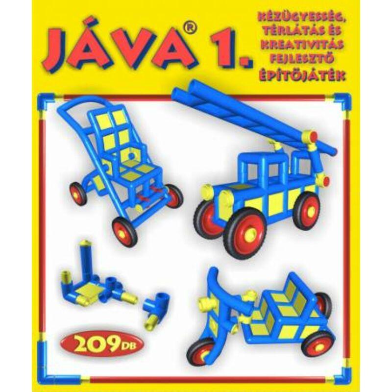 Jáva 1. Építőjáték (209 elem) klasszikus, 3-10 éves korig