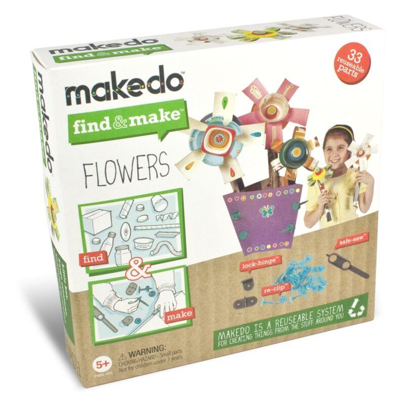 Makedo - Virágcsokor - Kreatív készlet 5 éves kortól