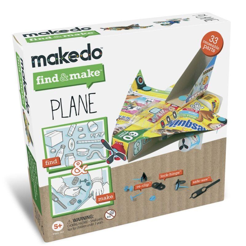 Makedo - Repülőkészítő - Kreatív készlet 5 éves kortól