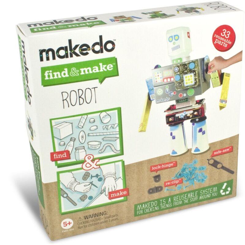 Makedo - Robotépítő készlet - kreatív készlet 5 éves kortól