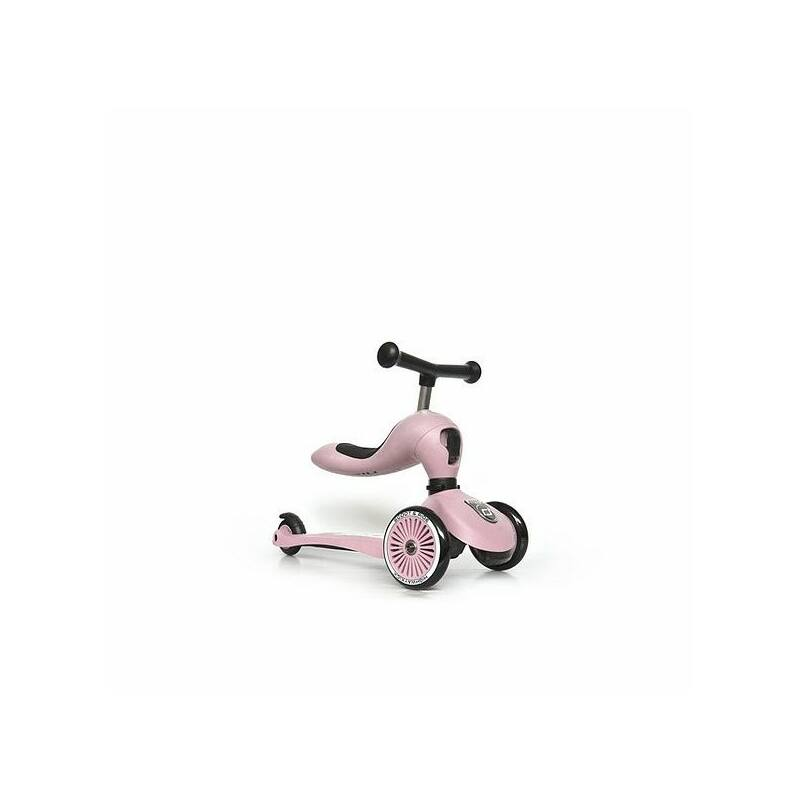 Scoot and Ride Highwaykick1 2 in 1 kismotor és roller rózsaszín