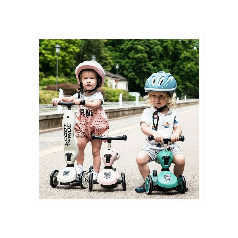 Scoot and Ride Highwaykick1 2 in 1 kismotor és roller világoskék
