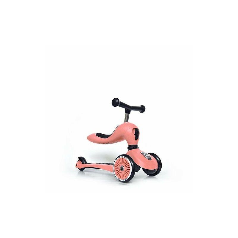 Scoot and Ride Highwaykick1 2 in 1 kismotor és roller barackszín