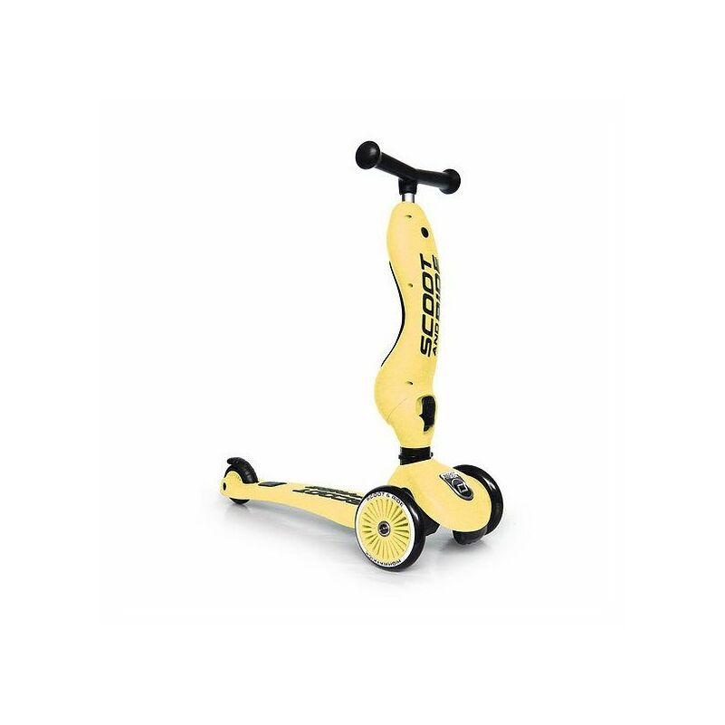 Scoot and Ride Highwaykick1 2 in 1 roller sárga színű 1-3 éveseknek