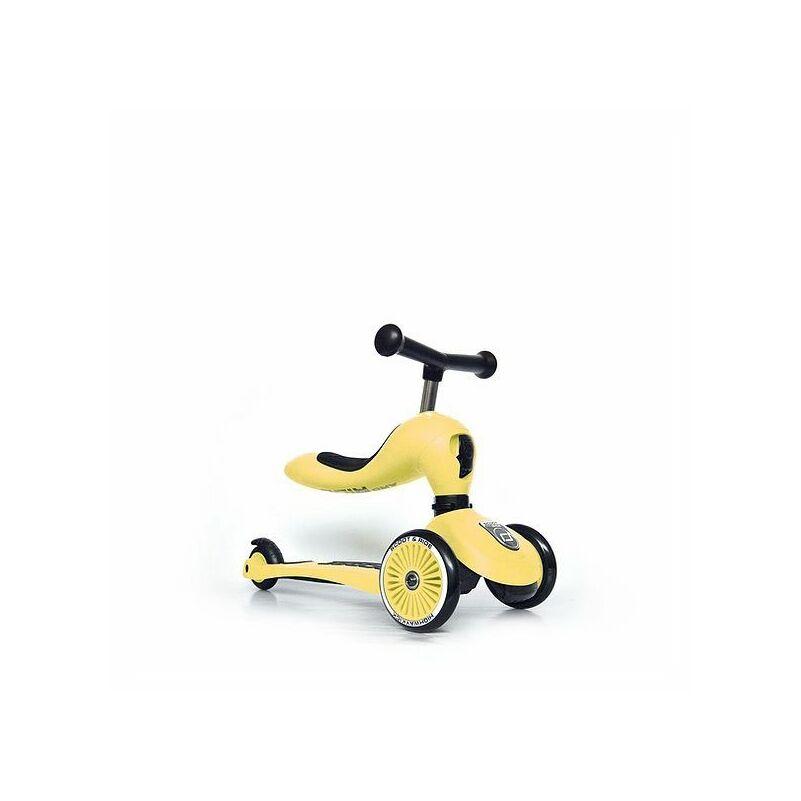 Scoot and Ride Highwaykick1 2 in 1 kismotor és roller citromsárga színű 1-3 éveseknek