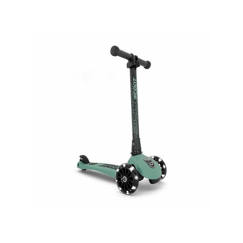 Scoot and Ride Highwaykick3 LED-es roller mélyzöld színű, 3-6 éves korig