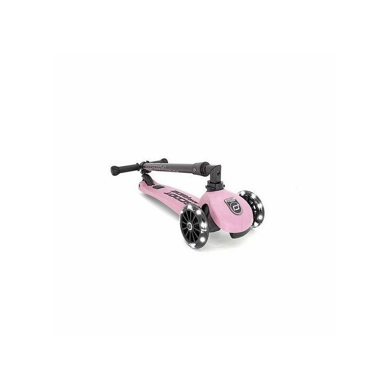 Scoot and Ride Highwaykick 3 LED roller Rózsaszín