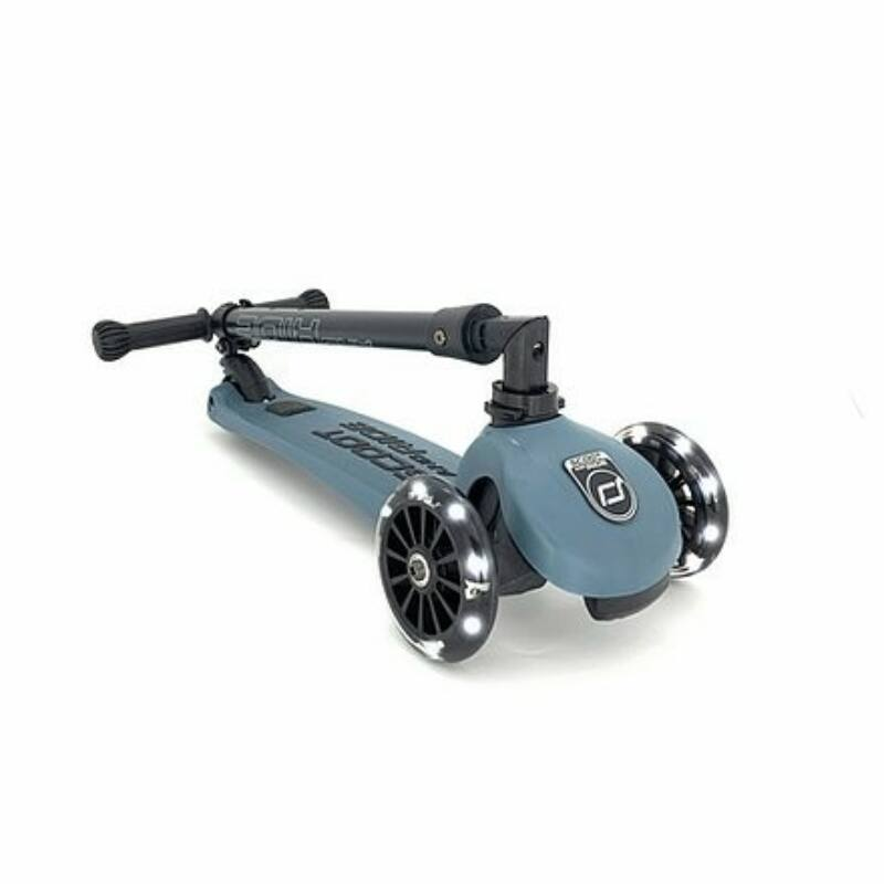 Scoot and Ride Highwaykick 3  LED roller Steel
